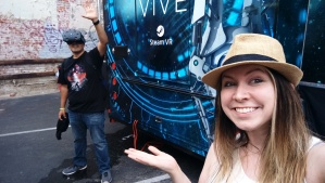 Laura was an excellent host for my Vive experience.